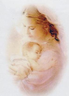 """Оригинал - Схема вышивки  """"Мать и дитя """" - Схемы вышивки - ЛенАрт - Авторы - Портал  """"Вышивка крестом """" ."""